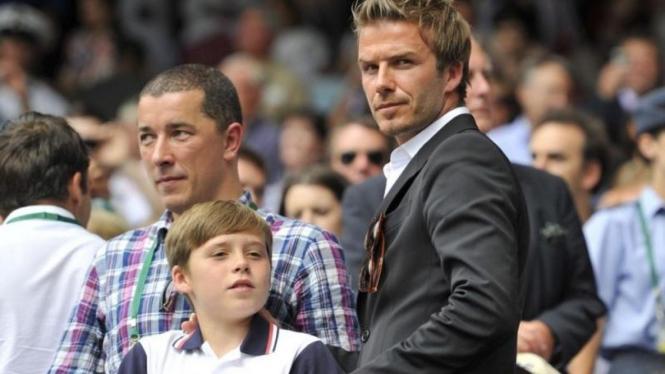 David Beckham dan Brooklyn