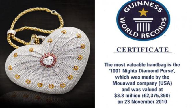 Tas House of Mouawad seharga 3,8 juta dollar