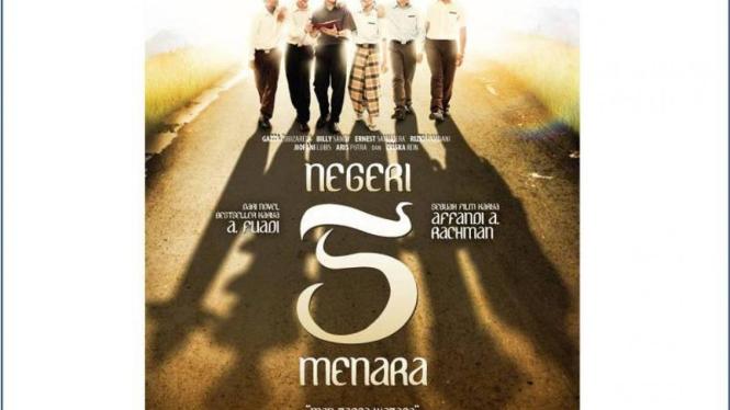 Poster film Negeri 5 Menara