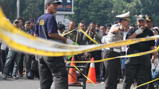 Ilustrasi olah TKP kecelakaan di Jakarta