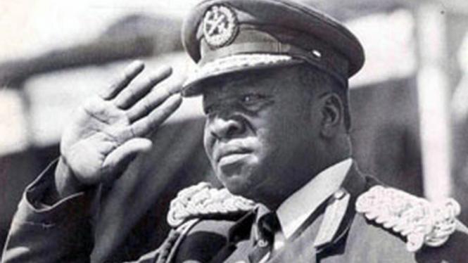 Mantan pemimpin Uganda, Idi Amin.