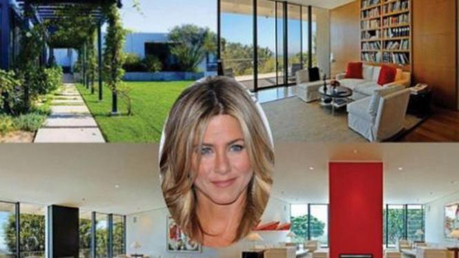 Rumah Mewah Jennifer Aniston