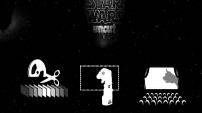 Film Starwars Uncut