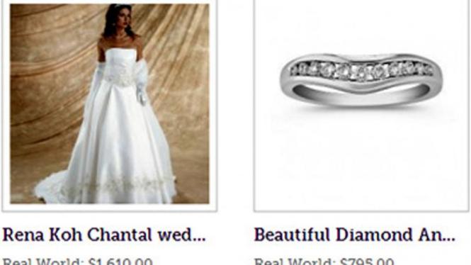 situs khusus barang dari mantan kekasih