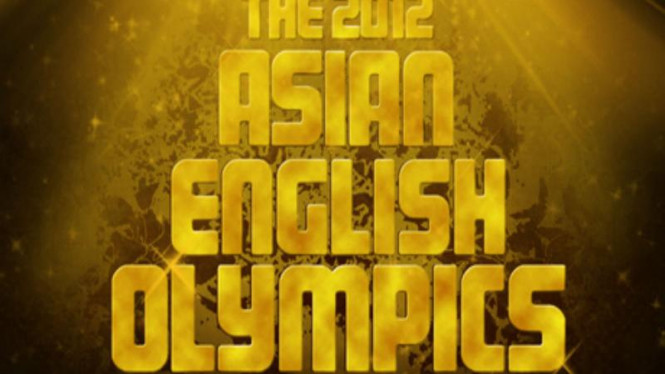 The 2012 Asian English Olympics