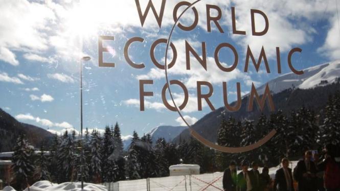 Lokasi pertemuan Forum Ekonomi Dunia 2017 di Davos Swiss