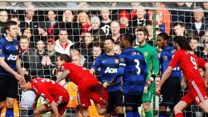 Liverpool vs MU di Piala FA