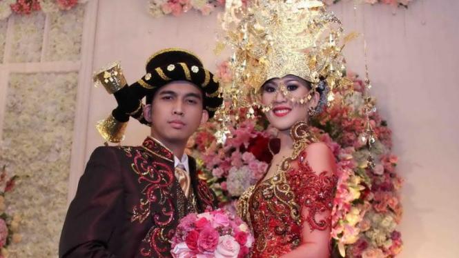 Pernikahan Naga dan Feby
