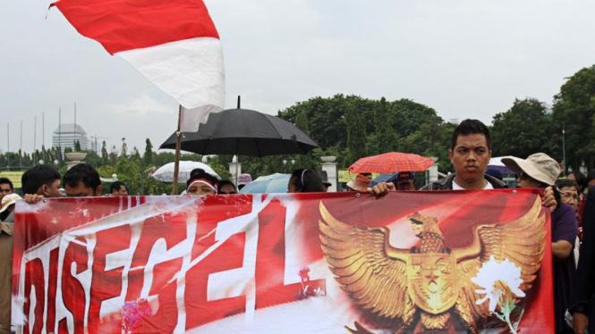 Jemaat GKI Yasmin Bogor Gelar Kebaktian di Istana