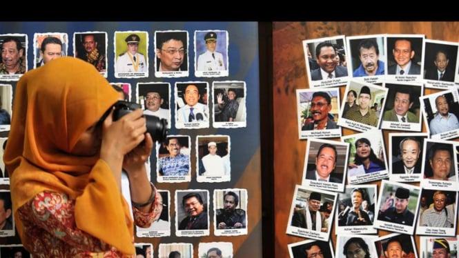 ILustrasi/Daftar pejabat negara yang tersangkut perkara korupsi