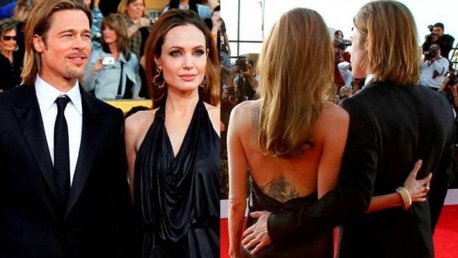 Brad Pitt dan Angelina Jolie di SAG Awards