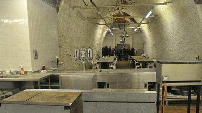 Bunker nuklir Inggris saat perang dingin