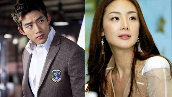 Taecyeon dan Choi Ji Woo