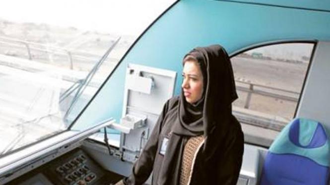 Mariam Al Safar, masinis wanita pertama di Timur Tengah
