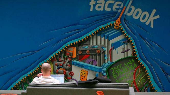 Kantor baru Facebook di Menlo Park