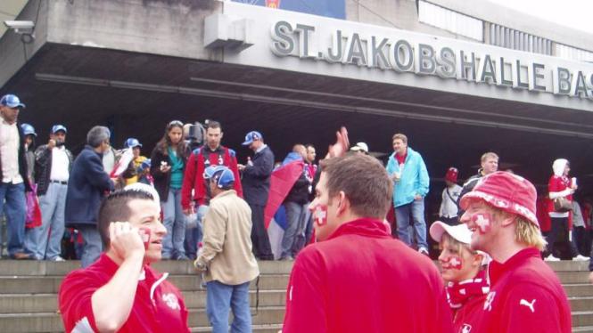 Stadion St Jakob Park di Basel