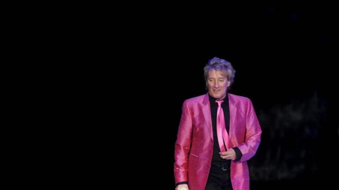 Konser Rod Stewart di Jakarta