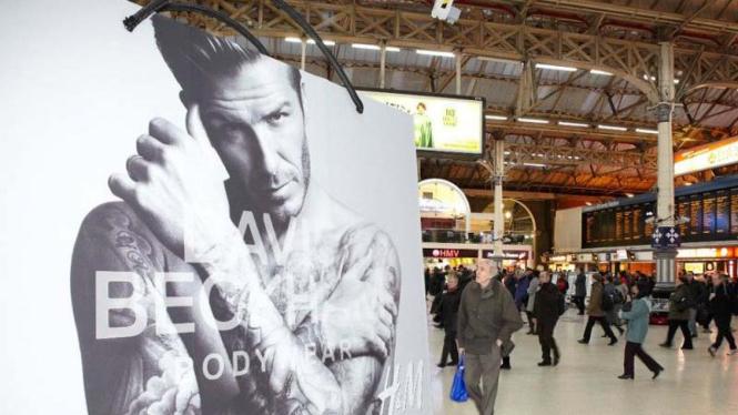 Iklan underwear terbaru David Beckham