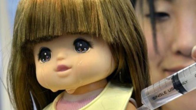 Yume-Chan boneka yang bisa menangis