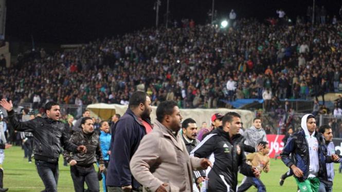 Kerusuhan Suporter Sepakbola di Mesir