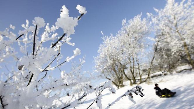 Cuaca dingin ekstrem di Eropa