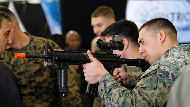 Marine West Military Expo