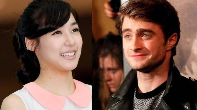 Tiffany SNSD dan Daniel Radcliffe