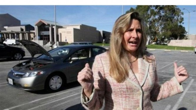 Heather Peters menggugat Honda