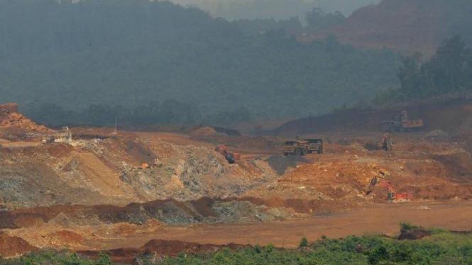 Tambang nikel PT. Vale Indonesia Tbk di Sorowako, Luwu Timur, Sulawesi Selatan