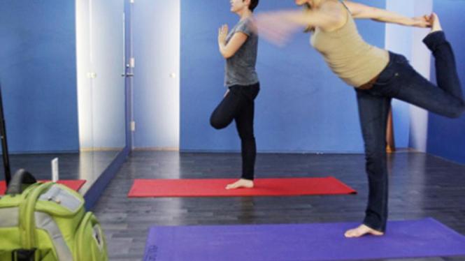 ruang yoga di Bandara San Francisco