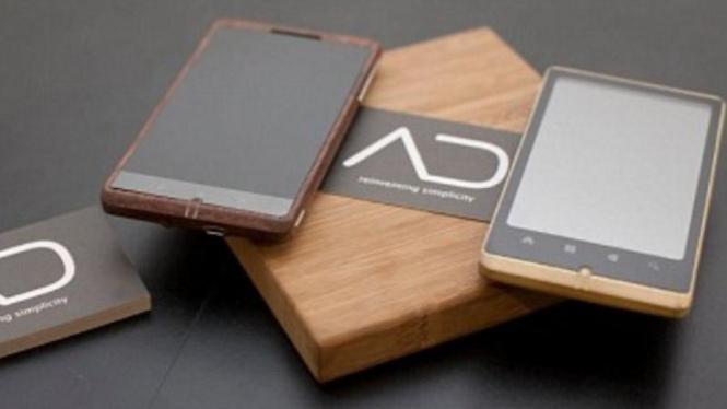 ADzero, smartphone berdesain bambu