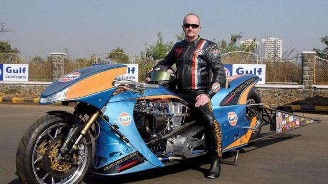 Gulf Dragster, motor dengan akselerasi tercepat di dunia