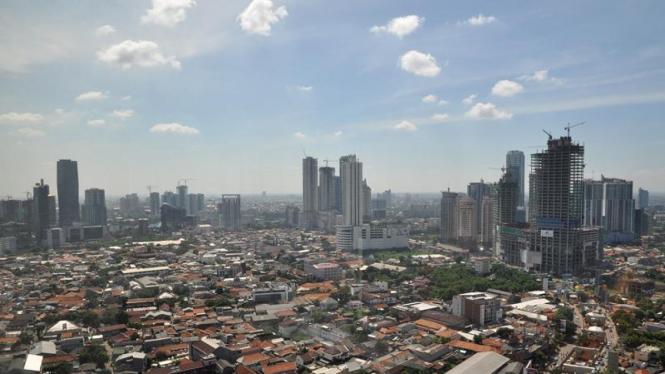 Pertumbuhan ekonomi Indonesia.