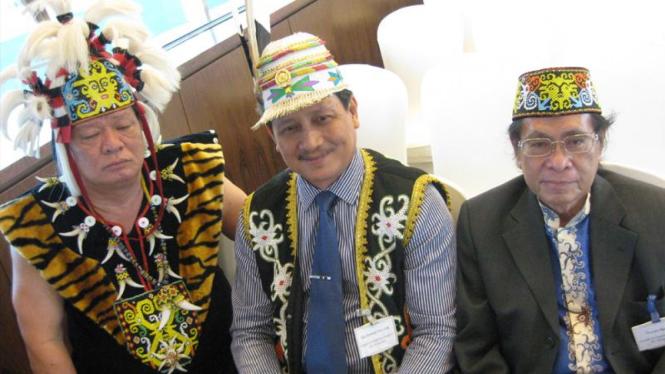 Tokoh Dewan Adat Dayak Kalimantan Timur