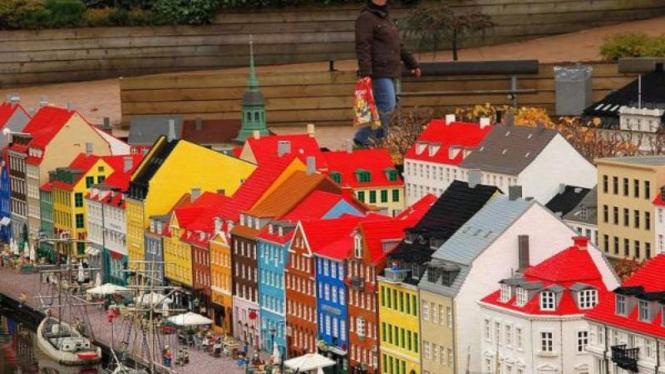 Kota Nyhavn di Denmark
