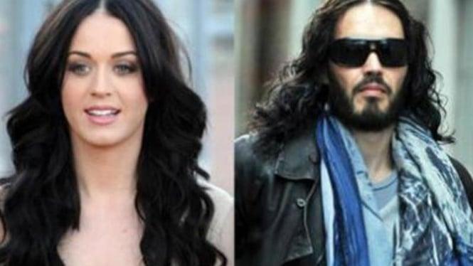 Katy Perry dan Russell Brand