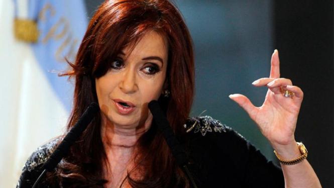 Presiden Argentina Cristina Fernandez de Kirchner