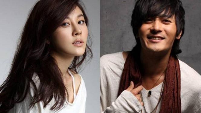 Kim Ha Neul dan Jang Dong Gun