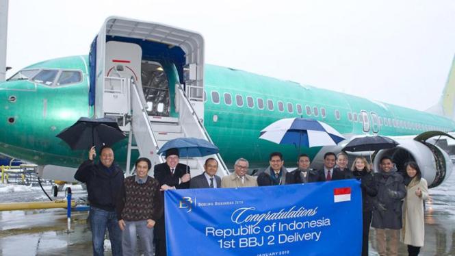 Pesawat Kepresidenan Boeing Business Jet 2