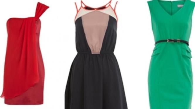 dress untuk tubuh petite
