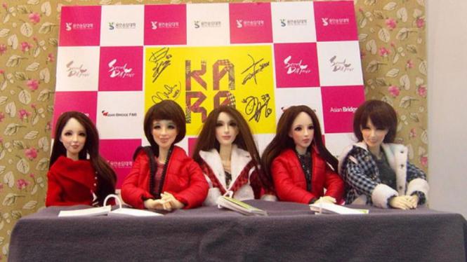 Pameran boneka di Korea
