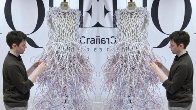 gaun dari 500 meter kabel listrik