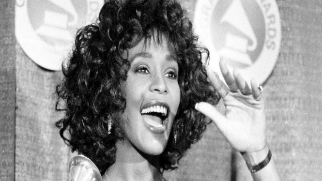 Whitney Houston di ajang Grammy Awards 1988