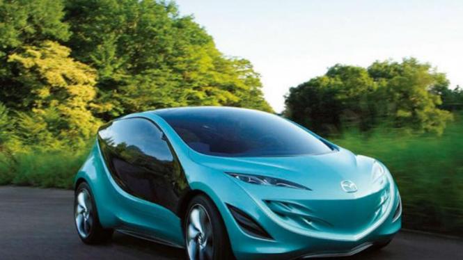 Mobil masa depan milik Mazda