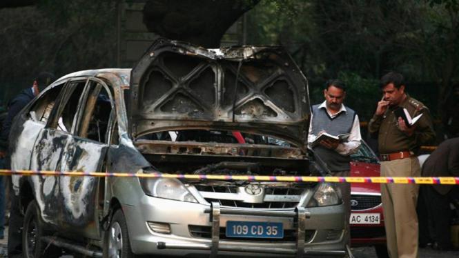 Serangan bom di Kedubes Israel di New Delhi, India