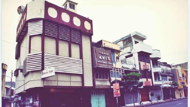 Ruko-ruko tua di Cirebon