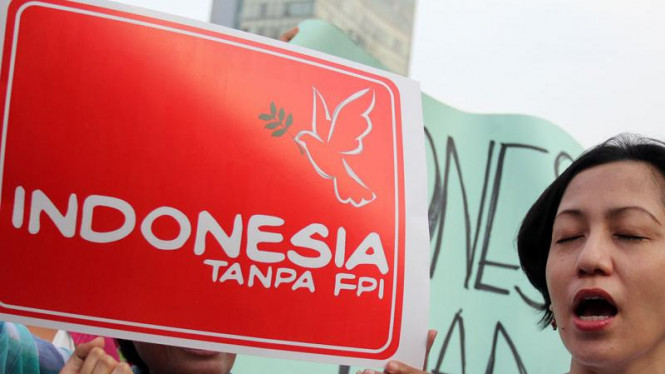 Aksi Demo Anti FPI