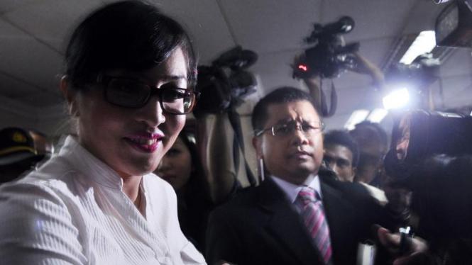 Angelina Sondakh menjadi saksi Nazaruddin