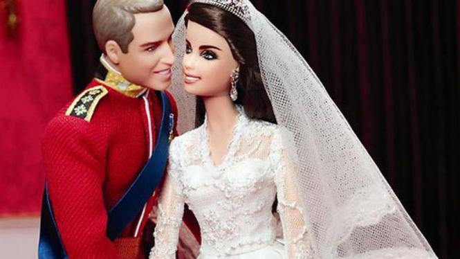 Barbie kado pernikahan William Kate
