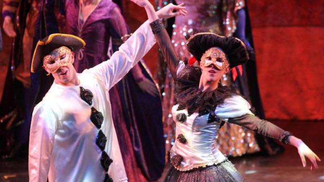 Pertunjukan Teater The Phantom Of The Opera